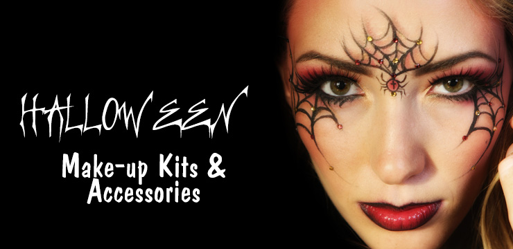 Halloween Costume Makeup Kits: GlitterGaloreandMore.com