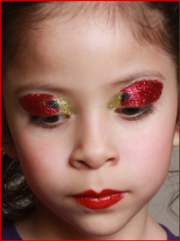Cardinal's Glitter Eyeshadow Colors